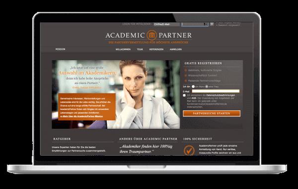 AcademicPartner.de - Partnersuche und Partnervermittlung für Akademiker Singles