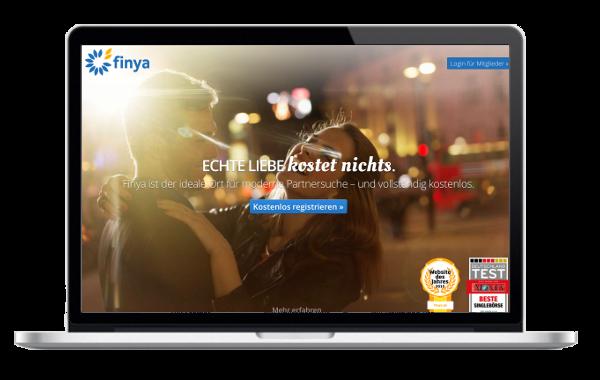 Finya.de - kostenlose Singlebörse