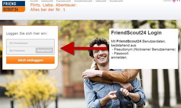 friendscout24 mitglieder login