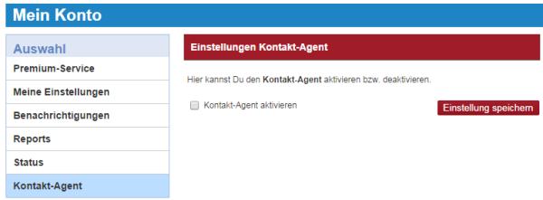 Kontakt-Agent bei KissNoFrog - Automatische Kontakt-Anfragen werden versendet - auch von Mitgliedern, die nicht aktiv sind.