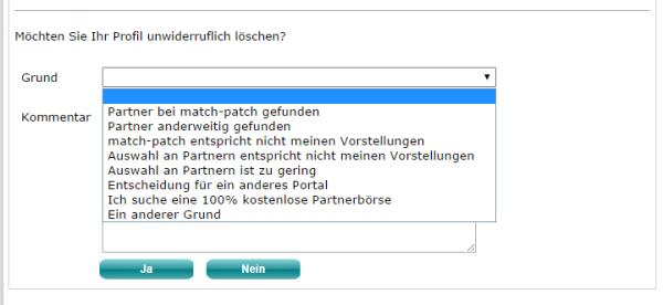 Match-Patch.de: So kündigen Sie ihre Mitgliedschaft bei Match-Patch.de - Wie ich meine Mitgliedschaft bei Match-Patch.de beende.