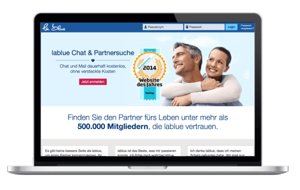 Partnersuche blue