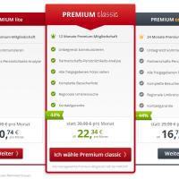 PARSHIP Kosten/ Preise - Preise, Kosten, Vertragslaufzeit, Kündigungszeitraum und Premium Mitglied Aktionen mit Preisersparnis