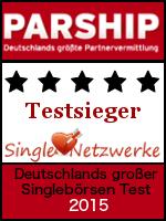 Parship - Testsieger - 2015 - Single-Netzwerke