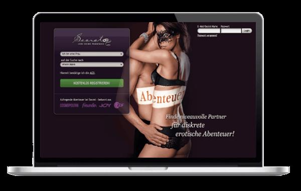 Secret-de - Fremdgehen im Internet - Seitensprung erotische Abenteuer und One Night Stand