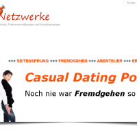 casual dating portale