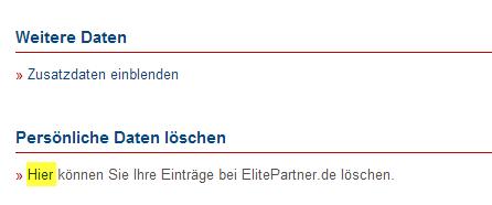Kündigung single.de