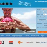 Anmeldung bei Lebensfreude50.de -Partnersuche für 50plus Singles