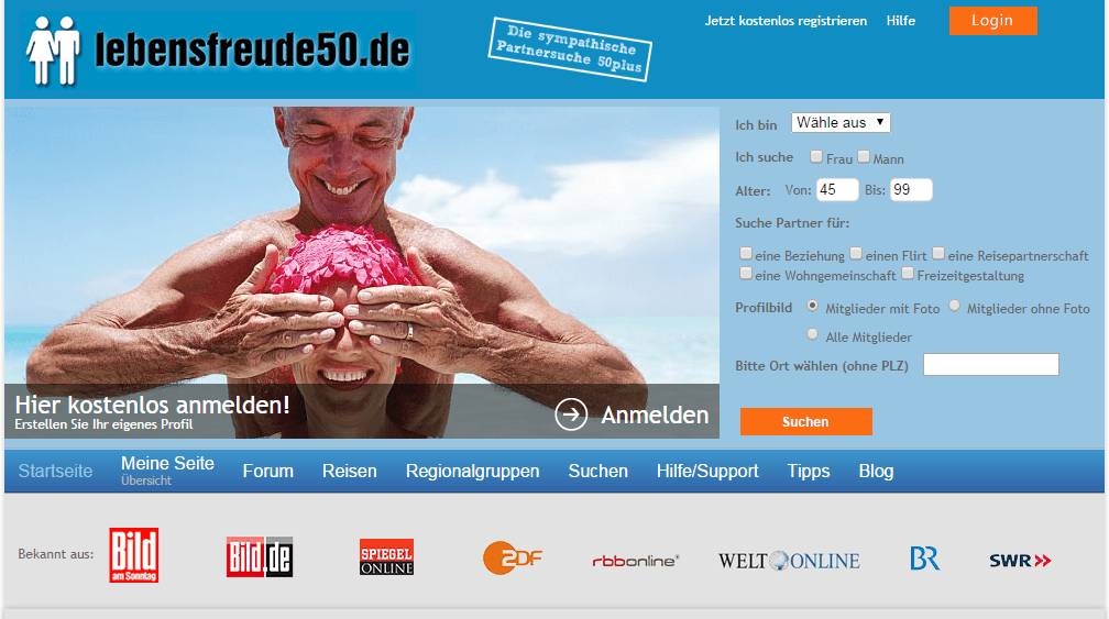 Kein blick aus online-dating-sites