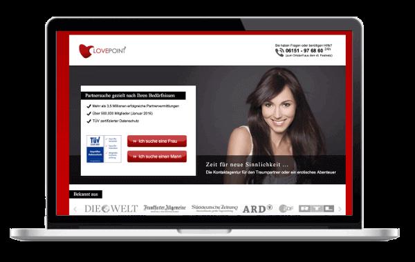 lovepoint.com - Partnersuche gezielt nach Ihren Bedürfnissen