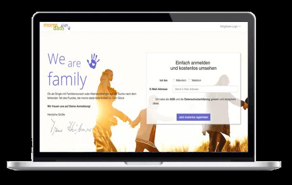 moms-dads-kids.de - Partnersuche für Alleinerziehende Singles und Menschen mit Familiensinn