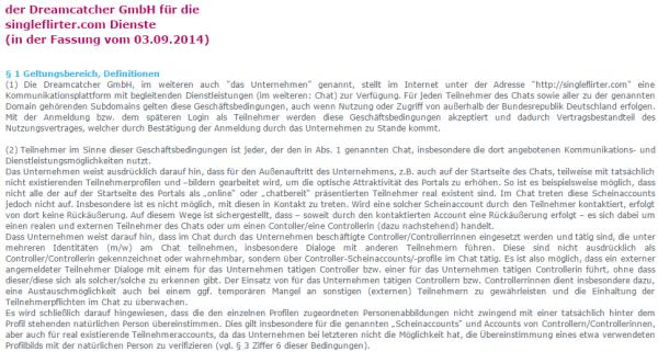 Singleflirter.com - Bewertung - Erfahrungen mit Singleflirter.com der DreamCatcher GmbH in unserem Singlebörsen Erfahrungsbericht - Alles über Fake Profile und Abzocke