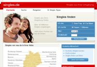 Singles.de Kontaktanzeigen Portal - Die Singlebörse zur Partnersuche.