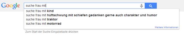 Männer suchen frauen googl