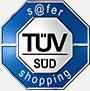 PARSHIP-s@fer shopping zertifiziert von TÜV SÜD